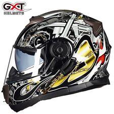 GXT 160 Motorcycle Flip Up Helmet Double Lens Full Face Helmets Moto Casco
