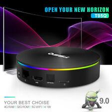 T95Q Android 9.0 TV Box Amlogic S905X2 Quad Core 4GB DDR4 64GB EMMC BT4.1 L S2V9