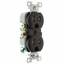 Cooper Wiring Devices 125-Volt 15-Amp Brown Duplex Electrical Outlet