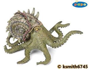 Papo KRAKEN solid plastic toy wild zoo sea marine animal octopus monster NEW 💥