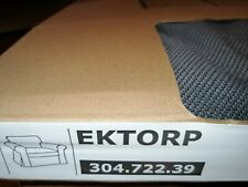 IKEA Ektorp Bezug für Sessel in  Hallarp grau 304.722.39  NEU