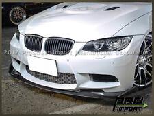 HM Style Carbon Fiber Front Add On Lip For BMW E92 E93 M3 Coupe Convertible