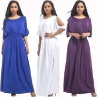 Langes Maxikleid Sommerkleid Mode für Mollige Abendkleid Partykleid Kleid BC543