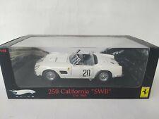 Hot Wheels Elite Ferrari 250 California SWB #20 Le Mans 1969 1/18 T6931