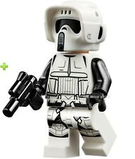 LEGO STAR WARS - SCOUT TROOPER, DUAL MOLDED HELMET FIGURE - 75238 - 2019 - NEW