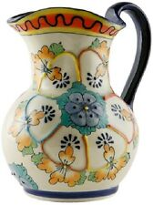 """Talavera style """"Pitcher 10"""""""" high""""handmade, Chip and scratch resistant"""