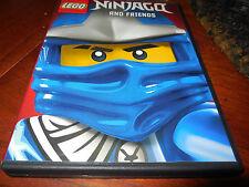 LEGO Ninjago and Friends (DVD, 2014)  + Free Child Legoland Ticket $77 Value