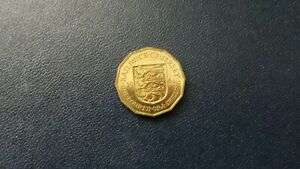 Jersey One Fourth of a Shilling.1964.PROOF.UNC.HIGH GRADE. CB.3