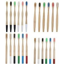 Eco-friendly Bamboo Toothbrush Oral Care Teeth Brushes Soft Bristles Kids Adult
