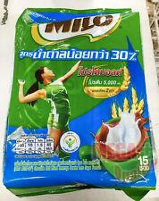 (MILO ACTIV-GO) Chocolate Malt Mixed Beverage Powder Less Sugar Formula 15 Stick