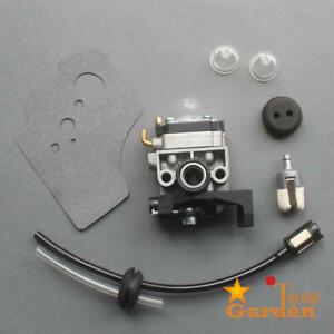 Carburetor For Honda GX35 HHT35 HHT35S Rep 16100-Z0Z-034 Carb & Fuel Filter Line