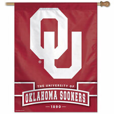 Ou Sooners Established 1890 House Flag and Banner