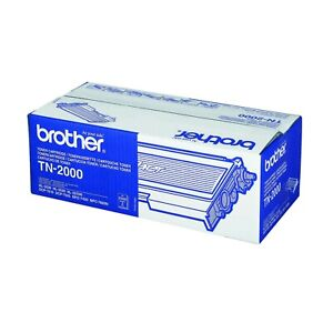 Toner Original Genuine Brother TN-2000 Noir 2500 Pages