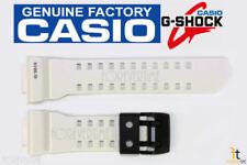 CASIO G-SHOCK G'Mix GBA-400-7C Original White Rubber Watch Band Strap