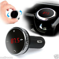 Wireless Bluetooth Auto KFZ FM Transmitter Radio USB MP3 Musik Player SD w/Remot