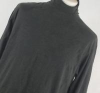 Marks & Spencer Black Cotton Mens Basic Tee Size L