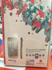 Brand New Sealed Nokia E71 Vintage Mobile Phone RARE Collectors Prop