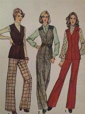 Simplicity Sewing Pattern 6622 Ladies / Misses Vest & Pants Size 10 Cut