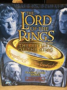 Lord of the Rings The Return of the King Update Binder by Topps 2004