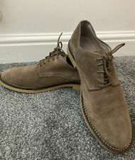 Zara Man Suede Tan Beige Desert Shoes Size 7 Used Laces