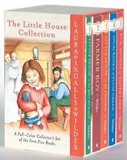 Little House on the Prairie Full Color Box Set (pb) Laura Ingalls Wilder NEW