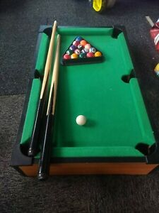 Kids Mini Pool Table. Great condition. Approximately 50cm x30cm.