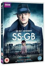 SS-GB  (2017) 1941 NAZI Spy Drama BBC TV Season Series, Len Deighton NEW  DVD UK