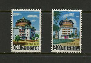 G728 Taiwan 1959 Science Entrée 2v. MH
