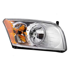 Dodge Caliber 2007 2008 2009 2010 2011 2012 pair left & right headlights & bulbs