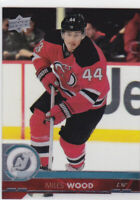 17/18 UD...MILES WOOD...CLEAR CUT...# 115...DEVILS...FREE COMBINED SHIPPING