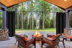 Thermal Outdoor Grommet Blackout Window Porch Curtain Panel K68 1 SET