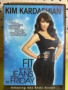 Kim Kardashian: Fit In Your Jeans By Friday (DVD, 2009) Region All Fitness