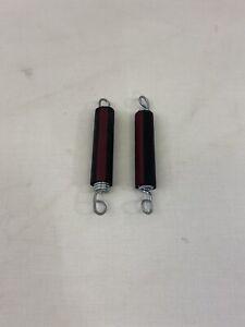 Ab Rocket Spings Set Of 2 Red Stripe