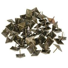 50x Vintage Europe Style Square Upholstery Nails Door Sofa Craft Decor Tack Stud