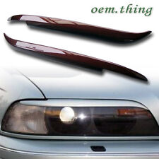 1997-2003 PAINTED For BMW E39 525i 528i 540i EYELIDS EYEBROWS HEADLIGHT COVER