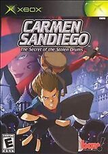 XBOX Carmen Sandiego: The Secret of the Stolen Drums *COMPLETE*
