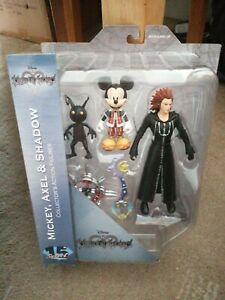 Kingdom Hearts Series 1 Action Figure 3-Pack Mickey/Axel/Shadow