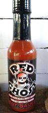 Red Ghost Hot Sauce Naga Bhut Jolokia  5 oz Hot Sauce