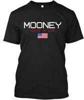 Mooney Made In Usa Hanes Tagless Tee T-Shirt
