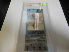 2002 SUPER BOWL XXXVI FULL TICKET SILVER VARIANT HIGH GRADE PSA NM/MT 8 RARE NFL