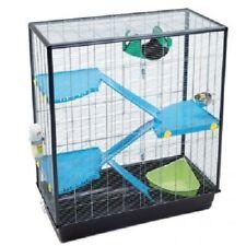Rat Cage Extra Tall Ideal for Ferret Gerbil 3 Levels Hammock Snap Lock Doors