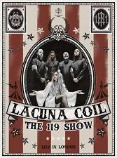 Lacuna Coil - The 119 Show - Live In London (NEW BLURAY, DVD, 2CD)