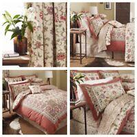 V & A Kalamkari Luxury Bedding  - Duvet Sets Throws Pillowcases Lined Curtains