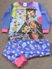 New Girls 100% cotton Bratz pajamas age 4-5 years