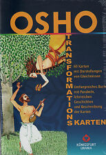 OSHO TRANSFORMATIONSKARTEN - KARTEN & BUCH SET - NEU