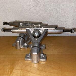 Randal R II 35 Degree 160mm Hi Raw Longboard Trucks - 9in Axle (Set of 2)