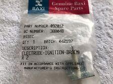 Baxi Bermuda LFE H & Braemar 2 3 Fire Front Ignition Spark Electrode 092012