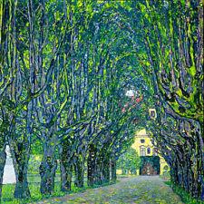 Gustav Klimt Park avenue palace Kammer canvas print giclee 8X8&12X12
