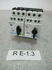 2x siemens 3RV1021-0JA10 Interrupteur de Protection Du Moteur 0,7 - 1 Ampère