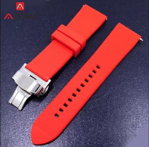 Watch Silicone Diver 22mm Band Rubber Strap for Seiko Skx007 Skx009